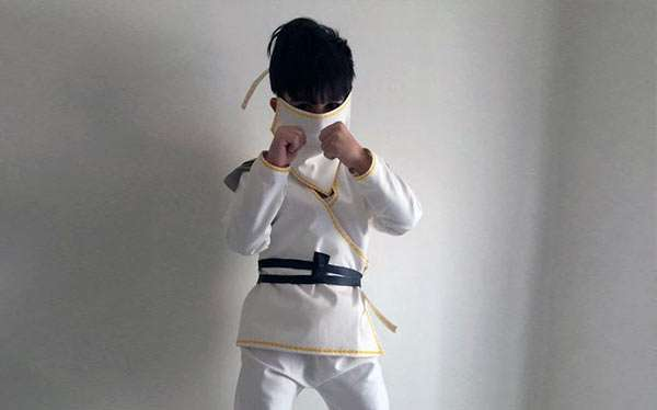 Ninjago Kostüm selber machen