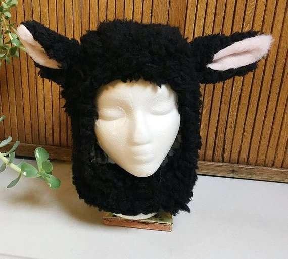 Etsy - Schaf Kostüm selber mache - Hangemachte Mützen
