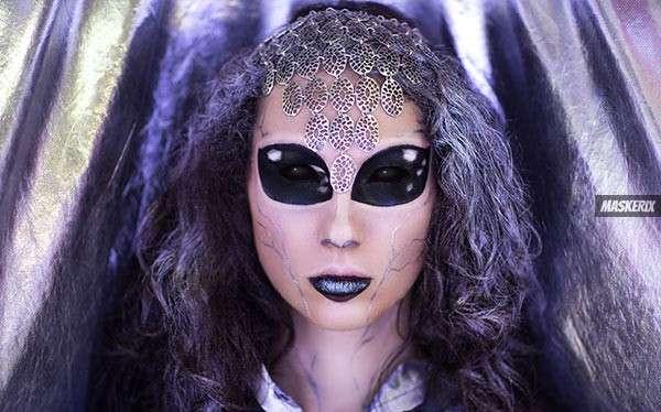 Alien Kostüm selber machen