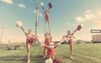 Cheerleader Kostüm selber machen