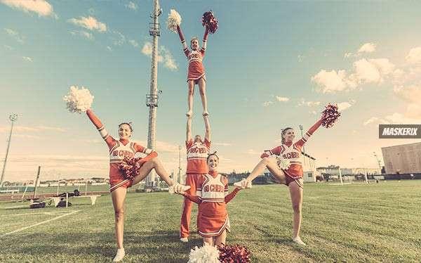 maskerix - Cheerleader-Kostüm selber machen