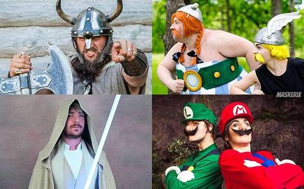 Kostüme mit Bart selber machen