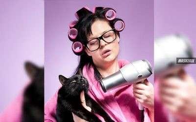 Verrückte Simpsons Katzenlady Kostüm selber machen