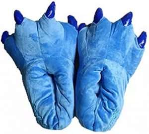 Amazon - Kostüm selber machen - Blaue Tier-Pantoffel