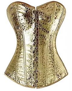 Amazon - Kostüm selber machen - Goldene Corsagen