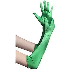 Amazon - Kostüm selber machen - Grüne Handschuhe