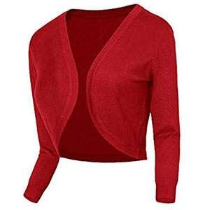 Amazon - Kostüm selber machen - Roter Bolero