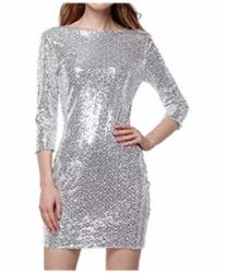 Amazon - Kostüm selber machen - Silberne Kleider