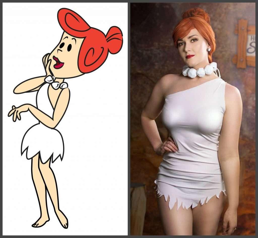 Etsy - Handgemachte Wilma Flintstone Kostüme