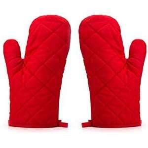Amazon - Kostüm selber machen - Rote Ofenhandschuhe