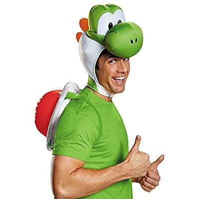 Amazon - Kostüm selber machen - Yoshi Mütze