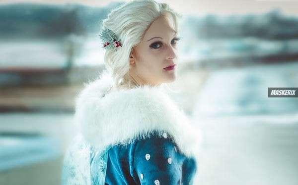 Eiskönigin Elsa Kostüm selber machen