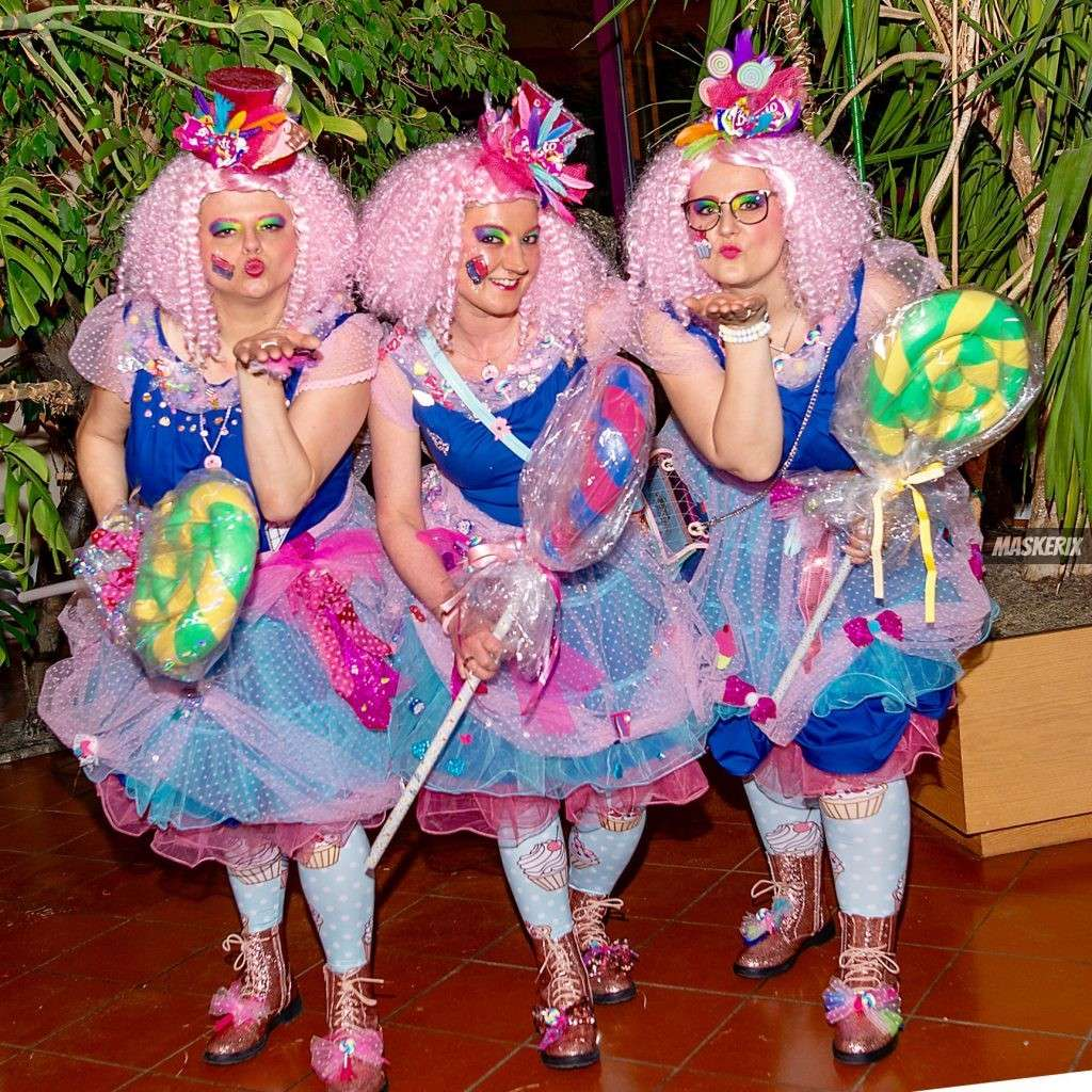 maskerix - Karneval-Foto-Contest 2019 - Candy Girl Kostüm selber machen
