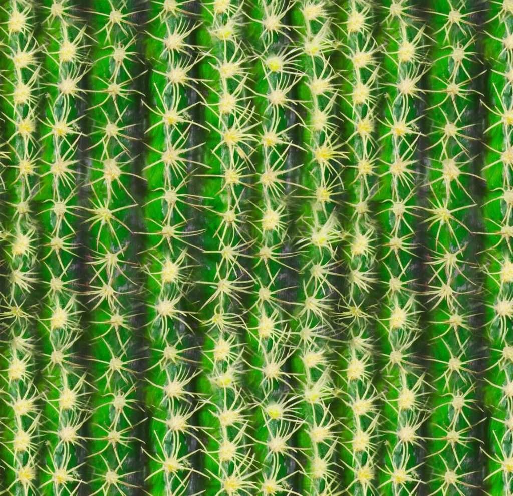 Etsy - Kostüm selber machen - Kaktus-Stoff