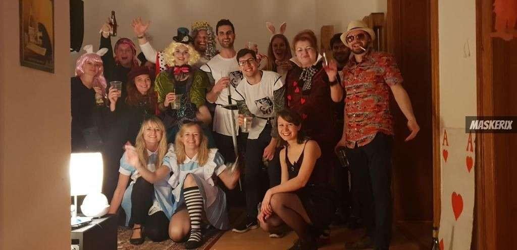 maskerix - Karneval-Foto-Contest 2019 - Alice im Wunderland Kostüm selber machen2