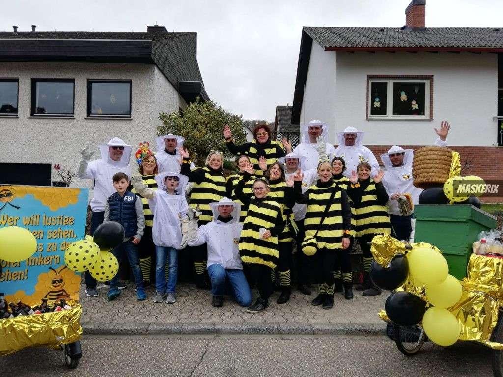 maskerix - Karneval-Foto-Contest 2019 - Bienen Kostüm selber machen