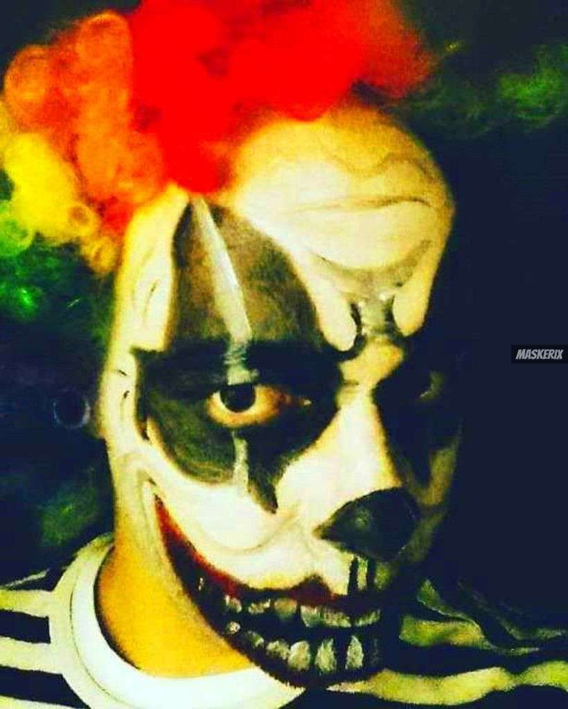 maskerix - Karneval-Foto-Contest 2019 - Clown Kostüm selber machen2