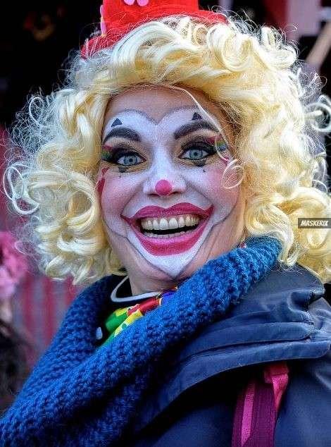 maskerix - Karneval-Foto-Contest 2019 - Clown Kostüm selber machen