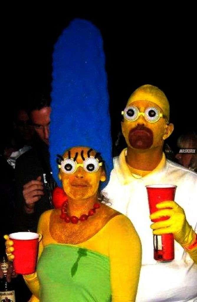 maskerix - Karneval-Foto-Contest 2019 - Die Simpsons Kostüm selber machen
