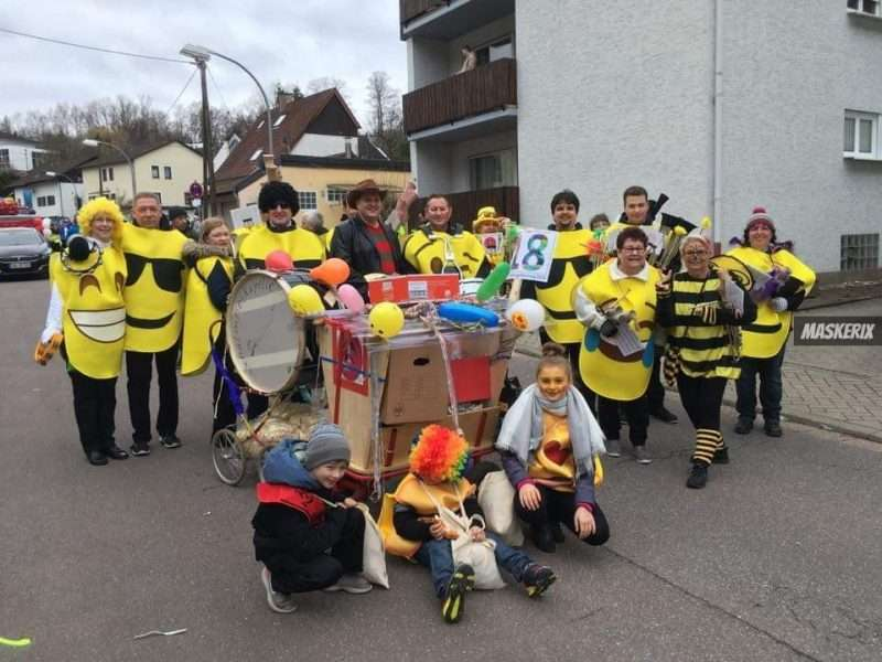 maskerix - Karneval-Foto-Contest 2019 - Emoji Kostüm selber machen