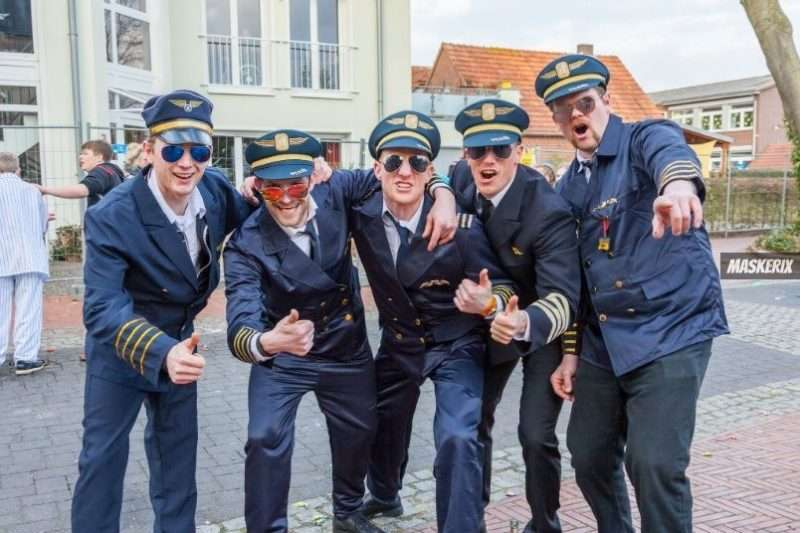 maskerix - Karneval-Foto-Contest 2019 - Pilot Kostüm selber machen
