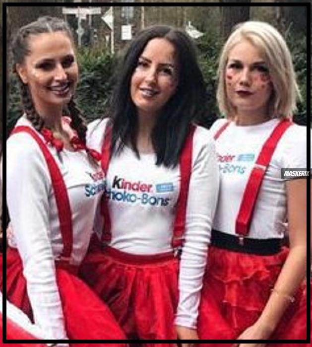 maskerix - Karneval-Foto-Contest 2019 - Schokobons Kostüm selber machen