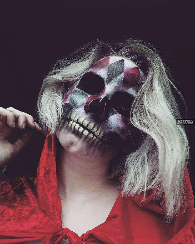maskerix - Karneval-Foto-Contest 2019 - Skelett Kostüm selber machen