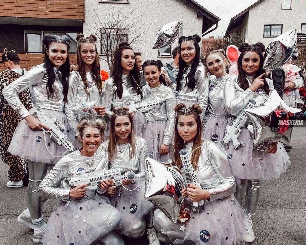 maskerix - Karneval-Foto-Contest 2019 - Space Kostüm selber machen