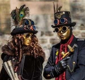maskerix - Karneval-Foto-Contest 2019 - Steampunk Kostüm selber machen