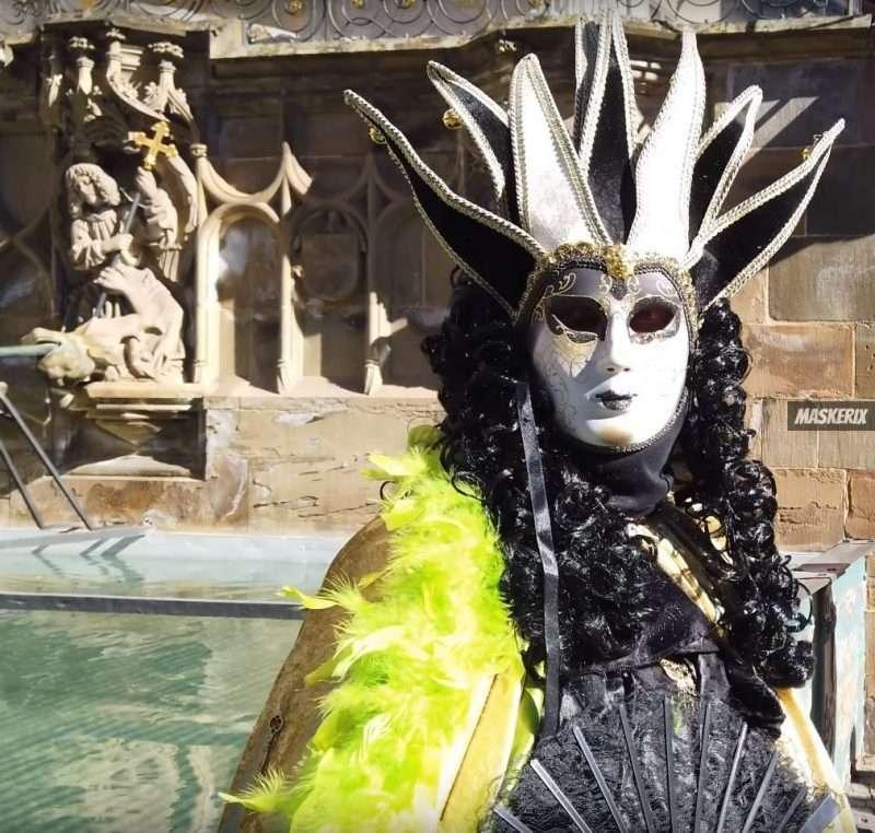 maskerix - Karneval-Foto-Contest 2019 - Venezianisches Kostüm selber machen