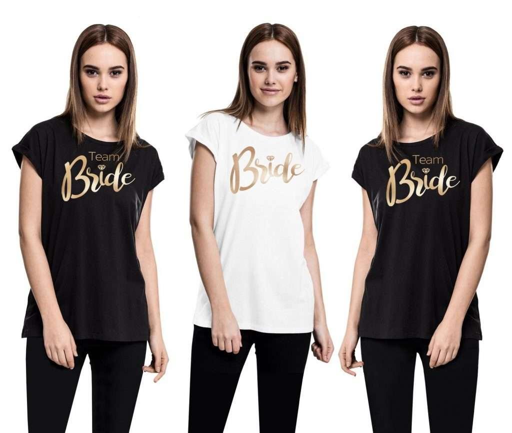 Etsy - JGA Shirt für Frauen - Team Bride