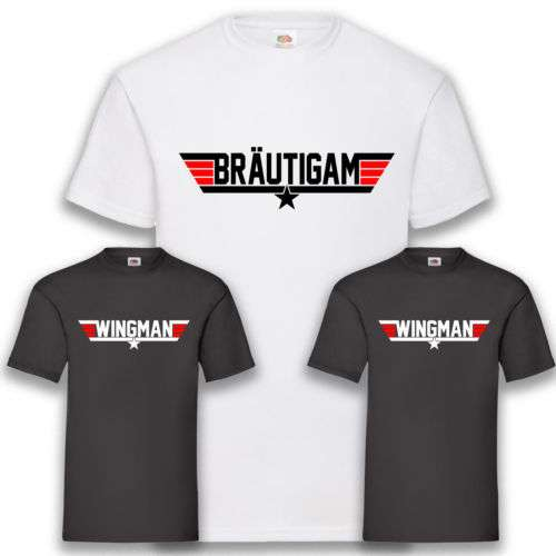 Etsy - JGA Shirt für Männer - Bräutigam & Wingman Shirts