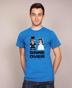 Etsy - JGA Shirt Ideen für den Bräutigam - Game Over