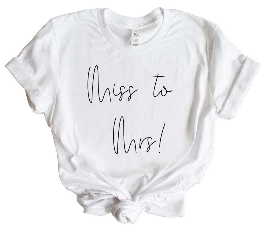 Etsy - JGA Shirt Miss to Mrs