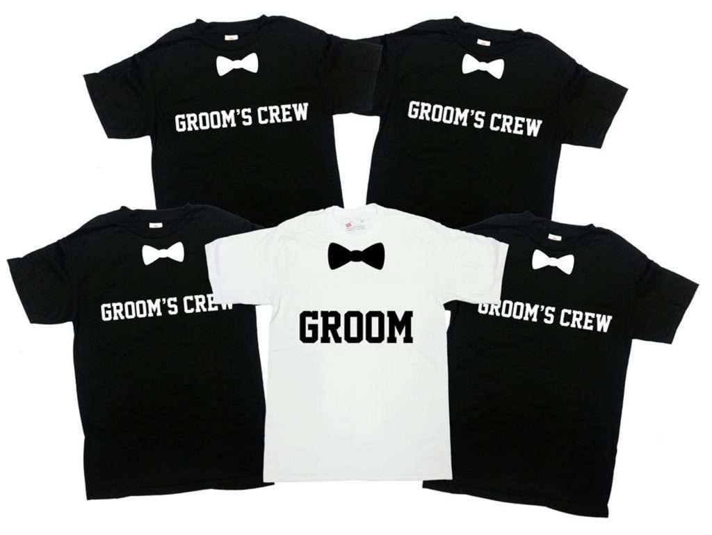 Etsy - Junggesellen-Abschied Ideen für Herren - Groom's Crew
