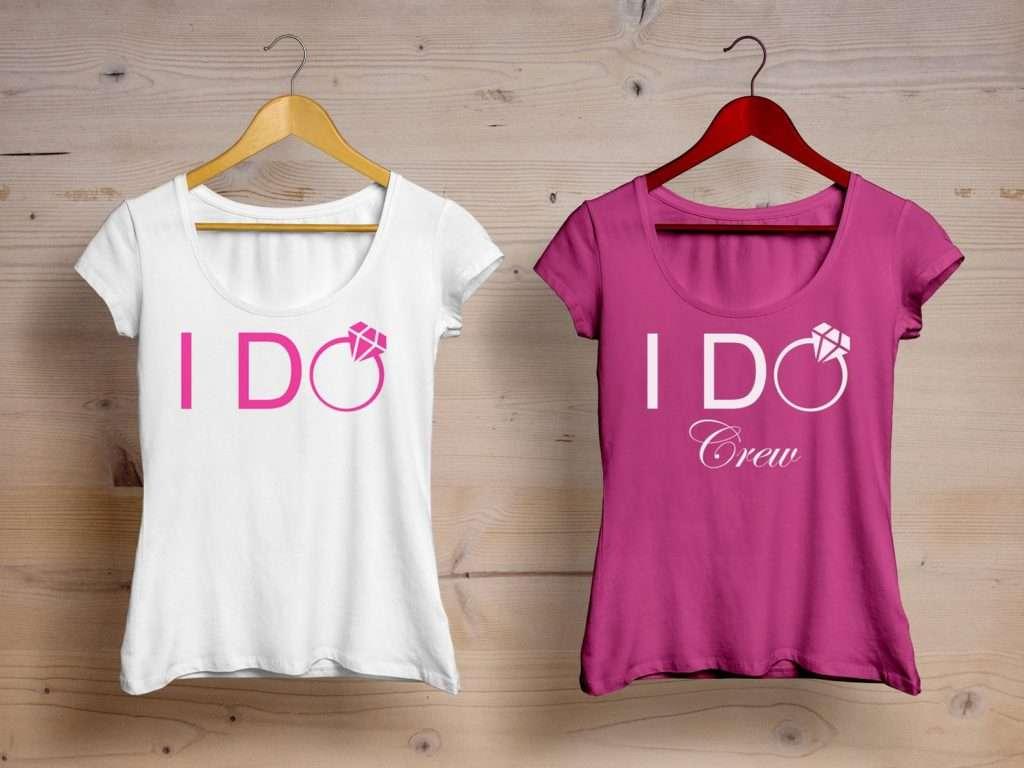Etsy - Junggesellen-Abschied Shirts für Frauen - I do & Crew