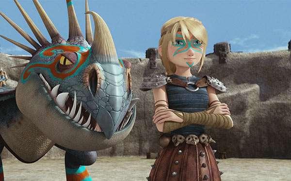 Drachen zähmen leicht gemacht Astrid Kostüm selber machen