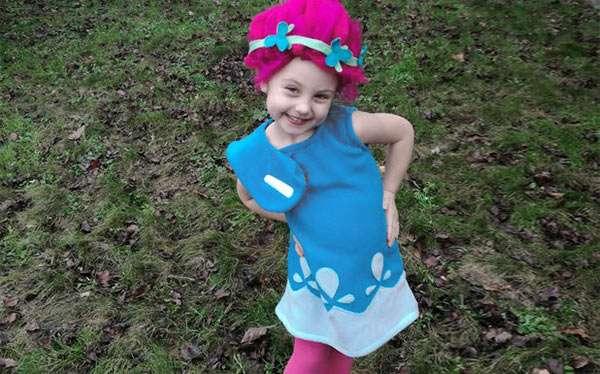 Prinzessin Poppy Kostüm selber machen