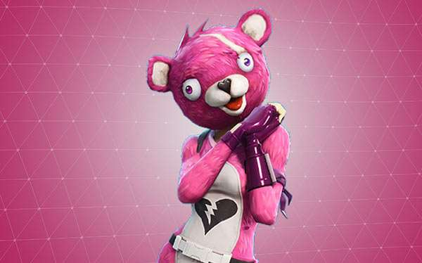 Fortnite Cuddle Team Leader Kostüm selber machen