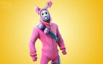 Fortnite Rabbit Raider Kostüm selber machen