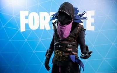 Fortnite Raven Kostüm selber machen
