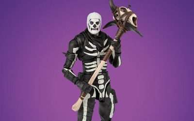 Fortnite Skull Trooper Kostüm selber machen