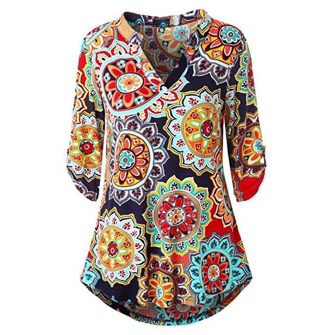Kostüm selber machen - Hippie Blusen