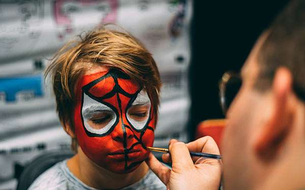 Einfache Halloween Schminkideen für Kinder » Kids Make-up