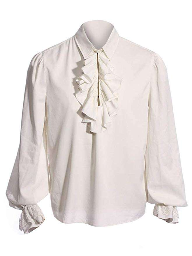 Kostüm selber machen - Rüschenhemd