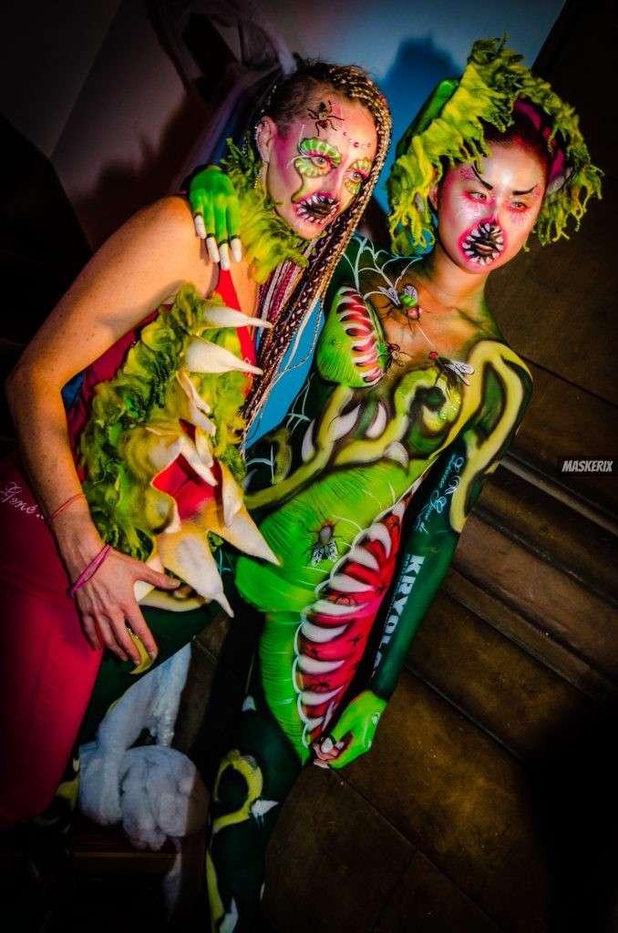 maskerix-HalloweenFotoContest2019-VenusFliegenfalle