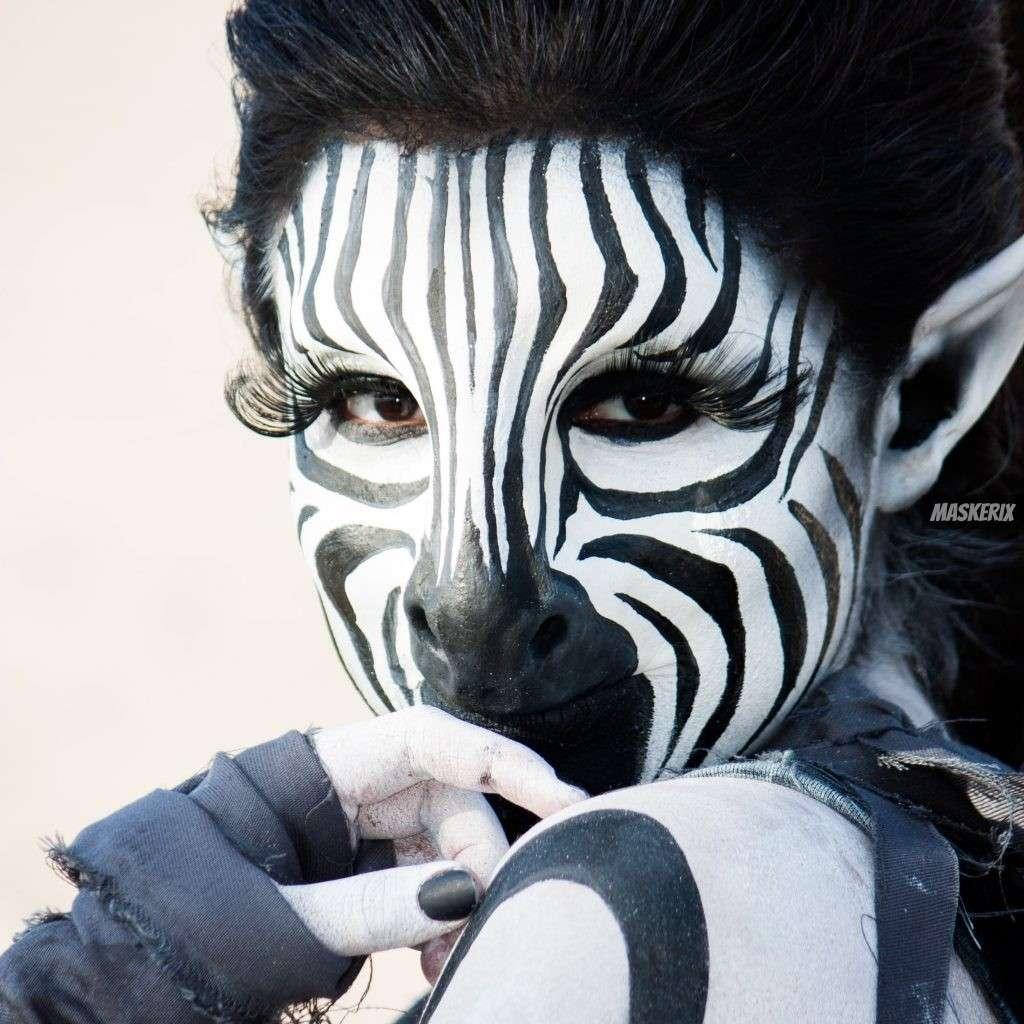 maskerix - Zebra Makeup