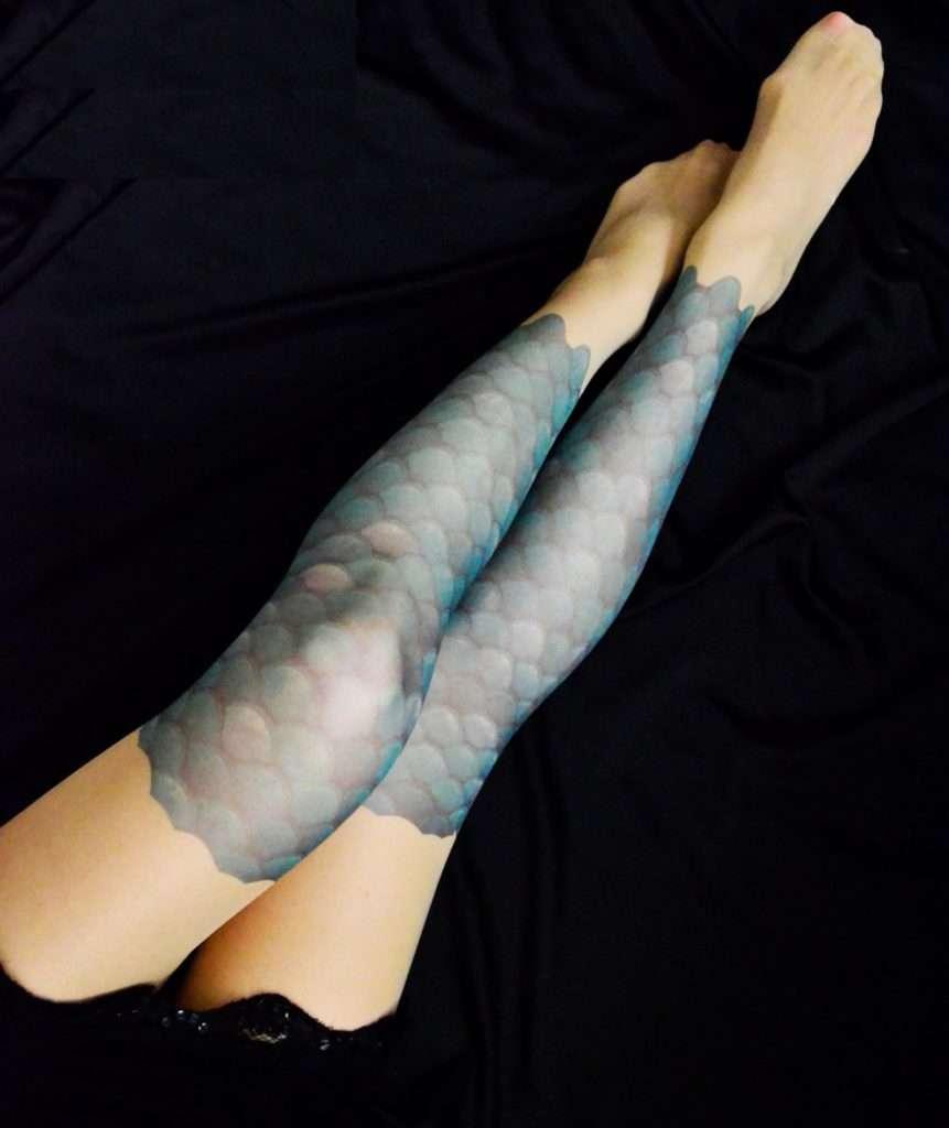 Etsy Meerjungfrau Strumpfhose