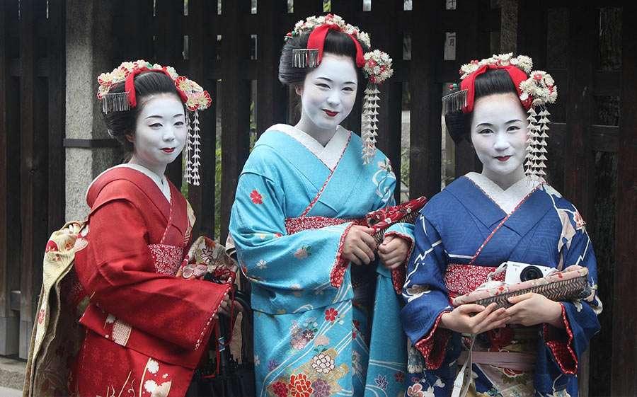 Geisha Kostüm selber machen