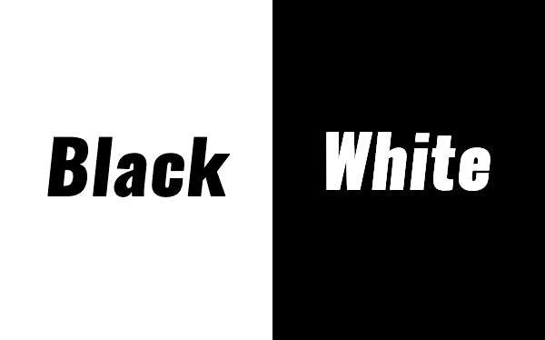 Black & White Mottoparty